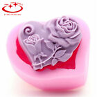 3d Silicone Ice Cube Candy Chocolate Cake Cookie Cupcake Soap Molds Mould Diy