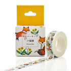 Washi Tape Christmas Set Red Heart Color Scrapbook Diy Sticker Decorative Tapes