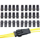 10-30pcs 234 Pin Way Car Super Seal Waterproof Electrical Wire Connector Plug