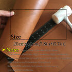 1.8-2mm Thick Light Brown Full Grain Leather Pieces Craft Vintage Cow Hide Scrap