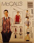 Mens Vtg Sewing Patterns Shirt Vest Tie Pants Bibs Jackets Uc U Pick