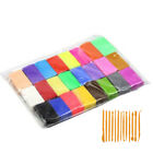 32 36 Mixed Color Set Oven Bake Fimo Polymer Soft Clay Modelling Moulding Diy