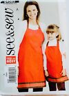 U Pick Apron Sewing Pattern Vintage To New Simplicity Butterick Mccalls