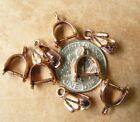 Copper Pinch Bails Different Styles Multi Packs Low Price Findings.
