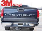 Chevy Avalanche Tailgate Letter Accessories 2002-2006 3m Vinyl