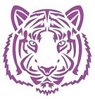 Flexible Stencil Tiger Face Small Medium Or Large Card Making Crafts Painting
