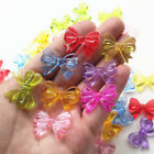 Multi Colors Clear Bow Acrylic Bead Hairband Bracelets Jewelry Diy Craft Decor