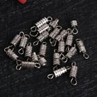 20 Pcs Jewelry Screw Clasp For Necklace Bracelet Findings Diy Buckle Gold