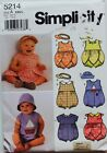 Vtg Infant Newborn Sew Patterns U Pick Romper Dress Layettewardrobe Hat Uc