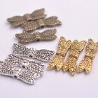50pcs Tibetan Silver Gold Bronze Angel Wings Spacer Charms Beads A57