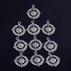 10x Wholesale Lot Tibetan Silver Charms Pendant Diy Jewelry Finding Crafts Beads