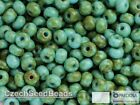 4mm Picasso 060 Czech Seed Beads Antique Rocailles 20g Travertine Size 6