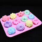 3d Silicone Cake Mould Candy Chocolate Diy Cake Cookie Cupcake Soap Molds