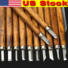 358pcs Wood Carving Tool Hand Chisel Knife Set Woodworking Gouges Professional