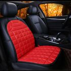 Auto Winter Warmer Electric Heated Heater Front Seat Cushion Pad Cover 12v Dc