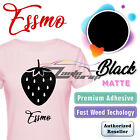 Essmo Matte Solid Heat Transfer Vinyl Htv T-shirt 20 Heat Press Easy To Weed