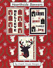 Hearthside Banners Kit Pattern By Coach House Designs Fabric By Deb Strain