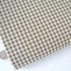 Kent 2 Vintage Gingham Fabric - Cotton Rich Sewing Dress Fabric