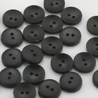 Wood Lot Shape Handmade 24 Holes Wooden Buttons Sewing Scrapbooking Diy