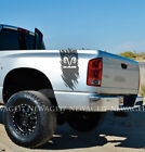 Vinyl Decals Fit Dodge Ram Power Hemi 4x4 Bed 1500 Sticker Stripe Unofficial