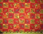 Autumn Fall Thanksgiving Collection 100 Cotton - Sold By The Yard