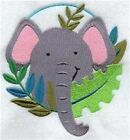 Series - 9 X 12 Embroidered Quilt Block - Pre Order - Peek-a-boo Zoo
