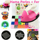 Fuse Perler Hama Beads Mini Ironing Set Refill Pack 3 Pegboards Stater