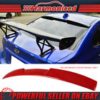 Fits 15-18 Subaru Impreza Wrx Sti Roof Spoiler Wing Painted M7y Pure Red