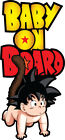 Baby On Board Dragonball Goku 2 Decals Stickers - You Choose Size Free Shipping