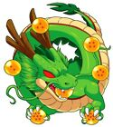 Dragon Ball Baby Shenron 3- 6 Vinyl Decal Stickers