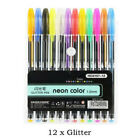 48 Gel Pens Art Set Adult Coloring Books Drawing Painting Gift For Kids Children