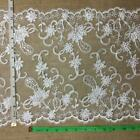 Bridal Lace Trim Gorgeous Elegant Alencon Embroidered Corded Sequined Mesh 12
