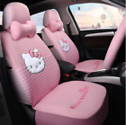 2020 New Hello Kitty Five Seats Car Seat Cover Steering Wheel Headrest