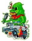 Rat Fink Ghost Buster 3- 6 Vinyl Decal Stickers