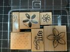 Stampin Up Wood Mounted Stamp Sets Retired You Choose. Fast Shipping
