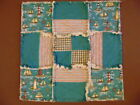 Lighthouse Natical Rag Quilt Square Candle Mat Centerpieces Or Table Runner