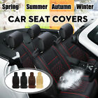 Universal Car Front Single Seat Cushion Chair Cover Pad Mat Pu Leather Usa Stock