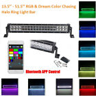 13-52 Led Light Bar Halo Ring Dream Color Chasing Lights Bluetooth Or Remote