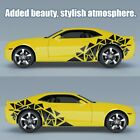 2pcs Car Decals Geometry Graphics Car Body Stickers Vinyl Side Strip Decal Tatto