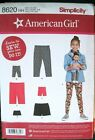 Choice Of New Simplicity Sew Patterns American Girl 18 Doll Child Clothes
