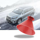 1-4pcs Car Windshield Ice Snow Remover Scraper Tool Cone Shaped Round Funnel Us