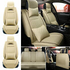Pu Leatherlinen Car Seat Cover 5-sits Universal Suv Full Set Protector Cushions