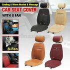 3 In1 Car Seat Cover Cushion Cooling Warm Heated Massage Chair Universal