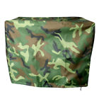 Camo Waterproof Outboard Motor Hood Boat Cover - Universal Trailerable - For 2