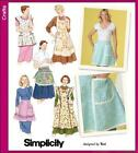Retro Vintage Style Apron Pattern Simplicity Sewing Pattern Misses 10 - 20 Upic