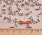 New Tibetan Silver Bracelet Crafts Finding Spacer Beads Caps Jewelry 34 Styles