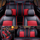 Us Car Truck Seat Covers For Ford F-150 2010-2016 Pu Leather Full Frontrear Set