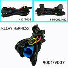 Relay Wiring Harness For Highlow Beam Hid Xenon Kit For 90049007 H4 H139008