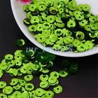 6mm Round Loose Sequins Paillettes Diy Sewing Decor For Clothing Bag Shoes New