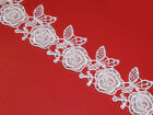 Vintage Style Lace Trim Crochet Ivory White Cream Wedding Sewing Bridal Ribbons